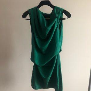 Arrogant Cat Dusk Label Green Mini Dress